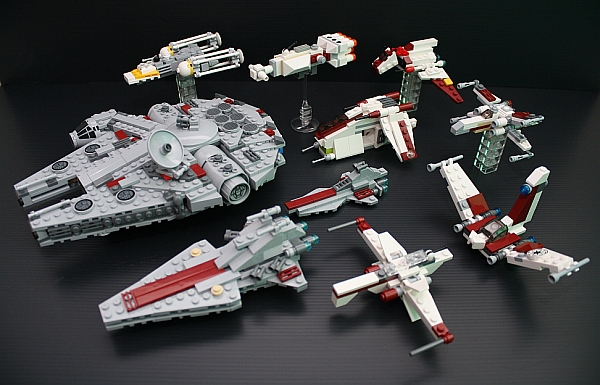 How to make small lego star wars ships list