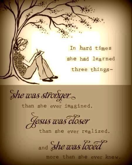 JESUS WAS CLOSER