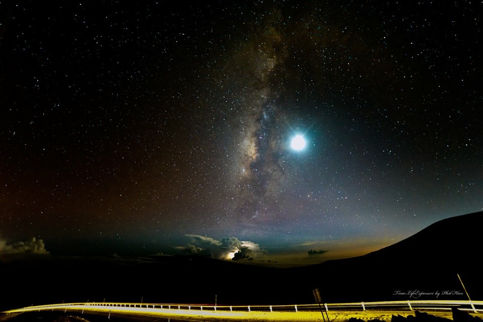 The Milky Way--Taken from the Visitor Center on Mauna Kea